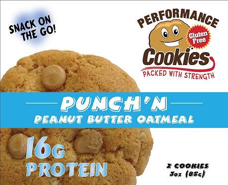 Punch'n Peanut Butter Oatmeal