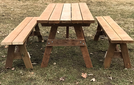 Picnic Table with Benches