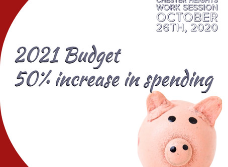 Borough Increases 2021General Fund Expense Budget by 50%
