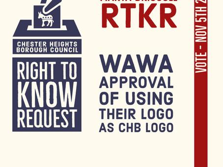 RTKR Reveals CHB New Logo is the Wawa Logo