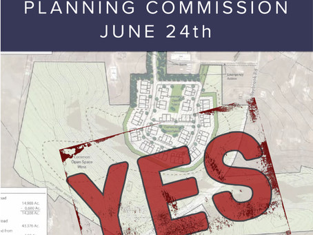 CHB Planning Commission Votes 5-2 to Recommend Powell Property for Development.