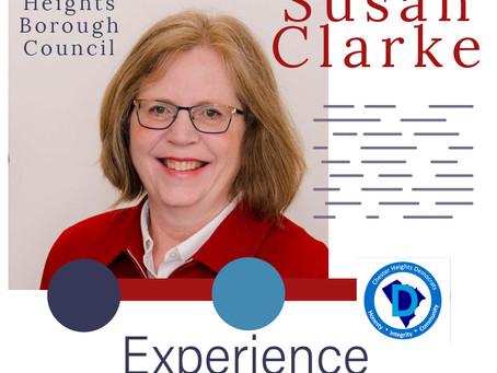 In Praise of Susan Clarke, a terrific public servant