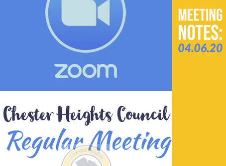 First-Ever Zoom Council Meeting