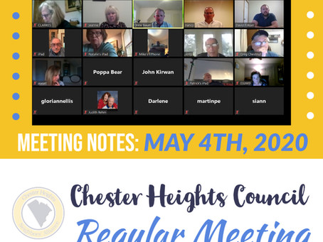 How do you Define Residency and Other Interesting Discussions from 5.4.20 CHB Council Meeting