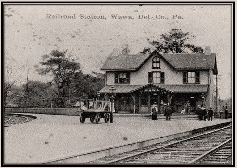 Wawa Railroad Station, Delaware County, PA