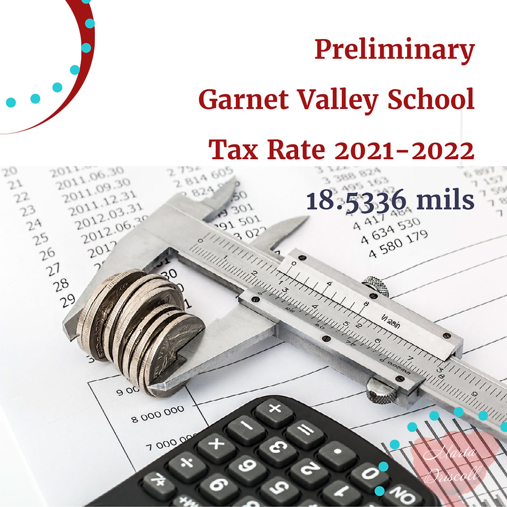 Chester Heights   Garnet Valley school district tax rate