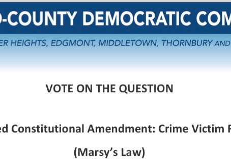 Proposed Constitutional Amendment: Crime Victim Rights (Marsy's Law)
