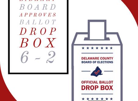 Library Board Approves Ballot Box 6-2