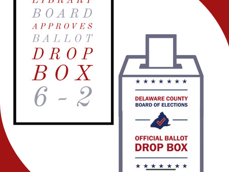 Library Board Approves Ballot Box 6-2