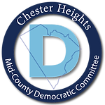 Chester Heights Dems  2 MCDC serif font-