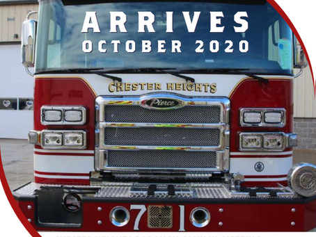 New Fire Truck Arrives in CHB October 2020