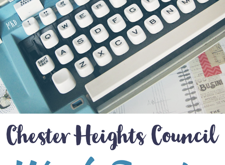Notes from the January 27th Council Work Session