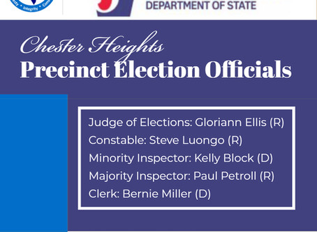 Polling Place Rules - Election Day Guidance from the Dept of State