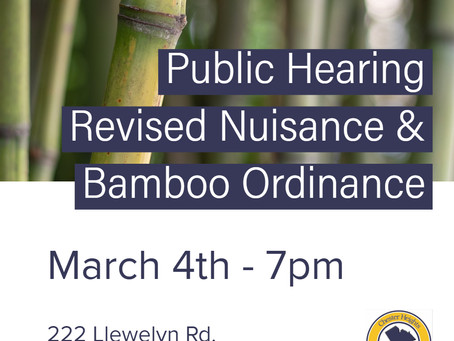 Bamboo and Nuisance