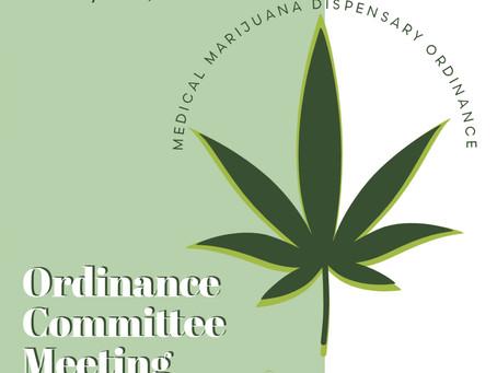 Medical Marijuana Dispensary Ordinance - CHB