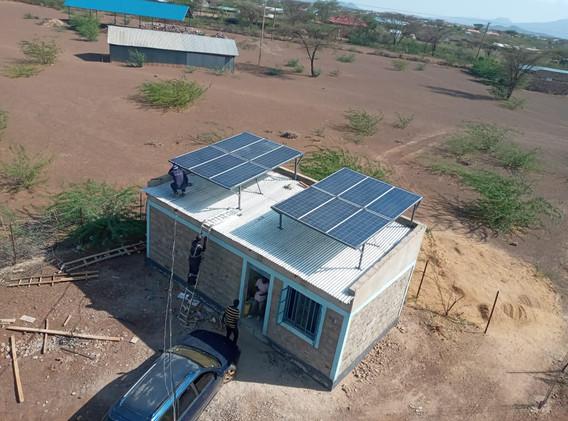 Kakuma Radio Solar Install