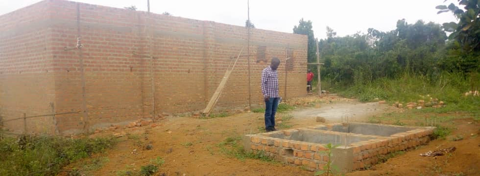 Butambala storage building and slab 2020