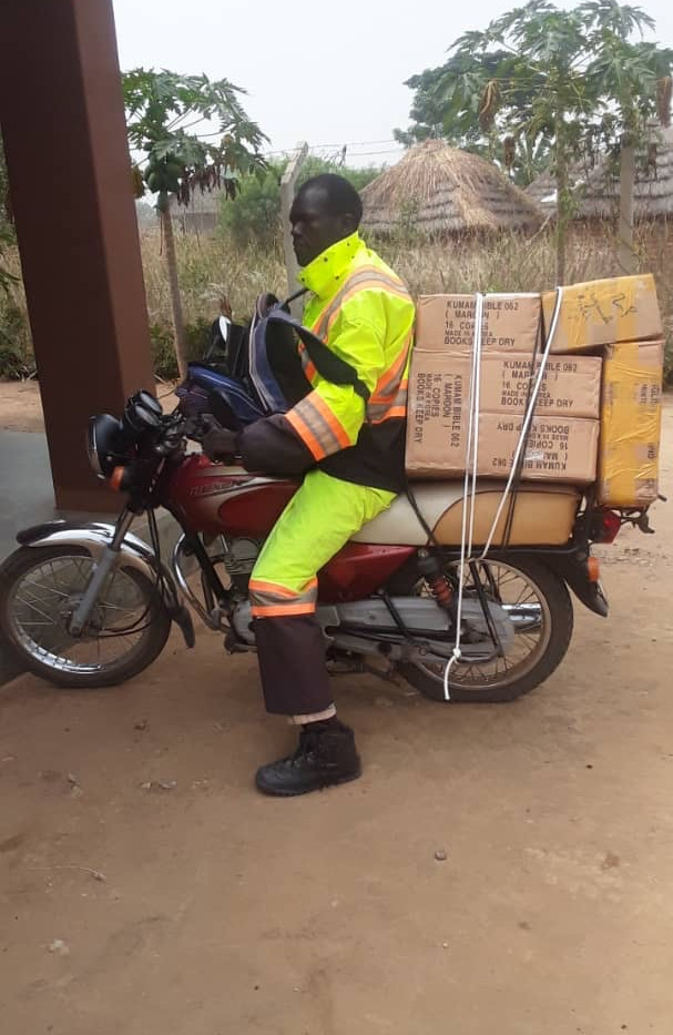 Delivery of Bibles for Soroti Prison.jpe
