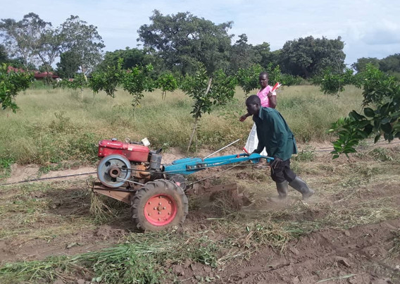 Inv 399 Teshil Ongutoi tractor training
