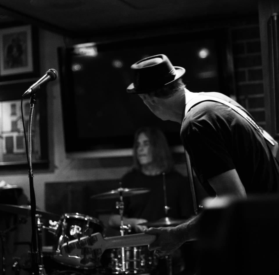 John and David Demeter on drums