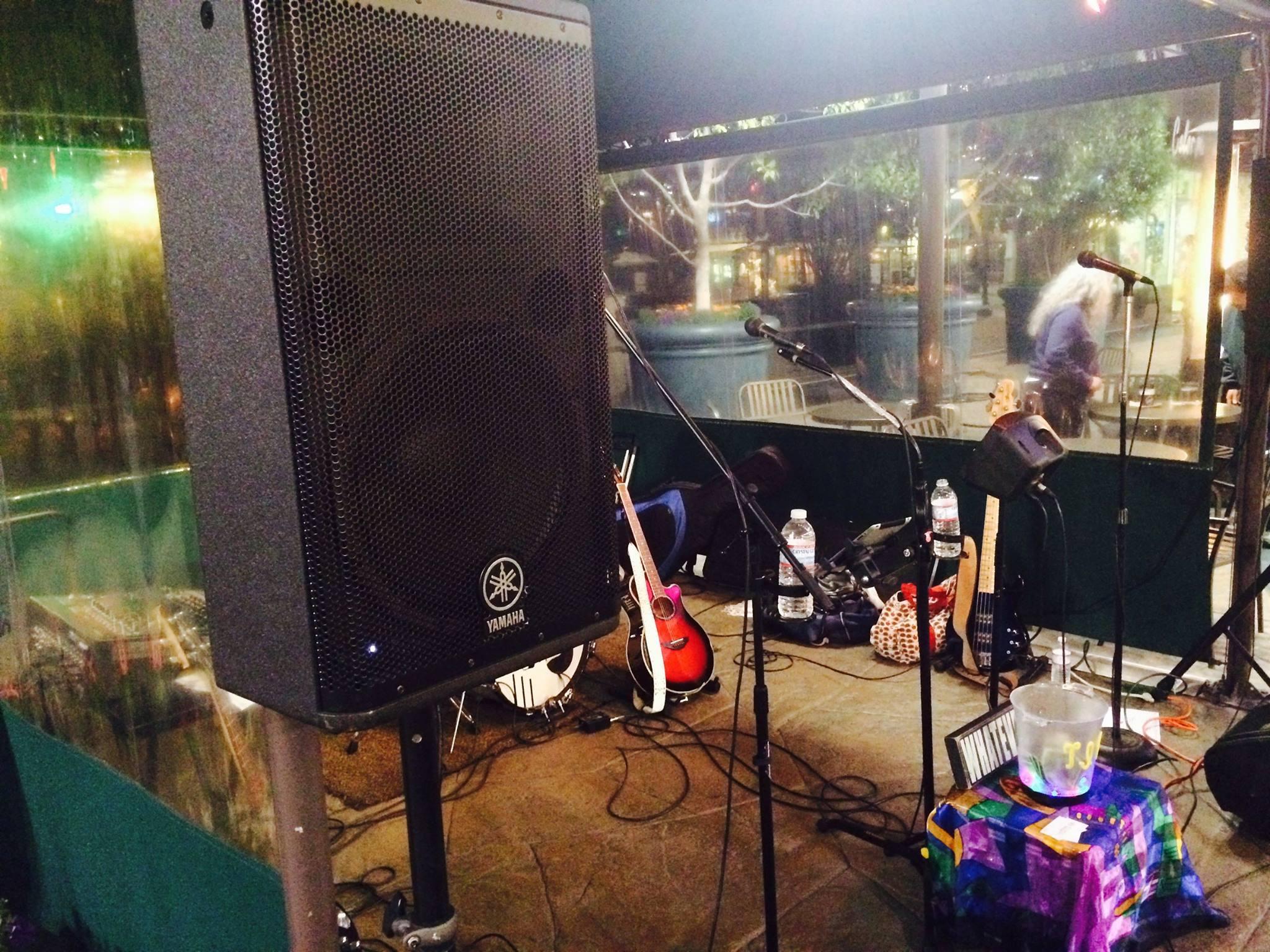 Metropointe stage setup