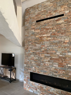 FEATURE FIREPLACE (BUTAGAS)