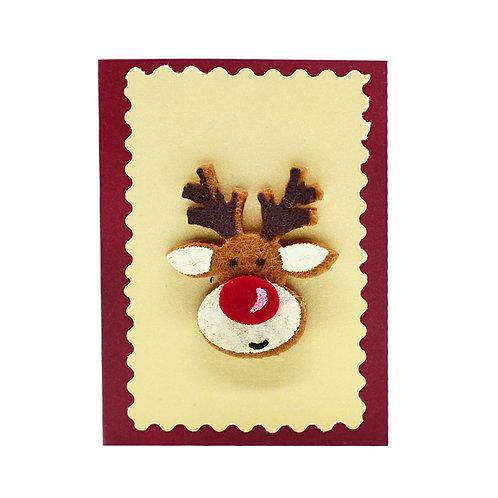 """Коледна картичка """"Еленче"""""""