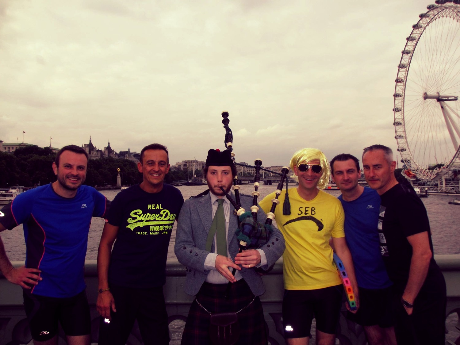 Themed running event in London