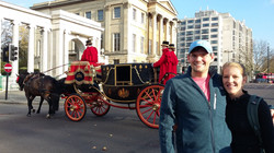 Royal carriages at Hyde Park corner