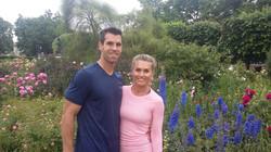 Couple in the Rose Garden