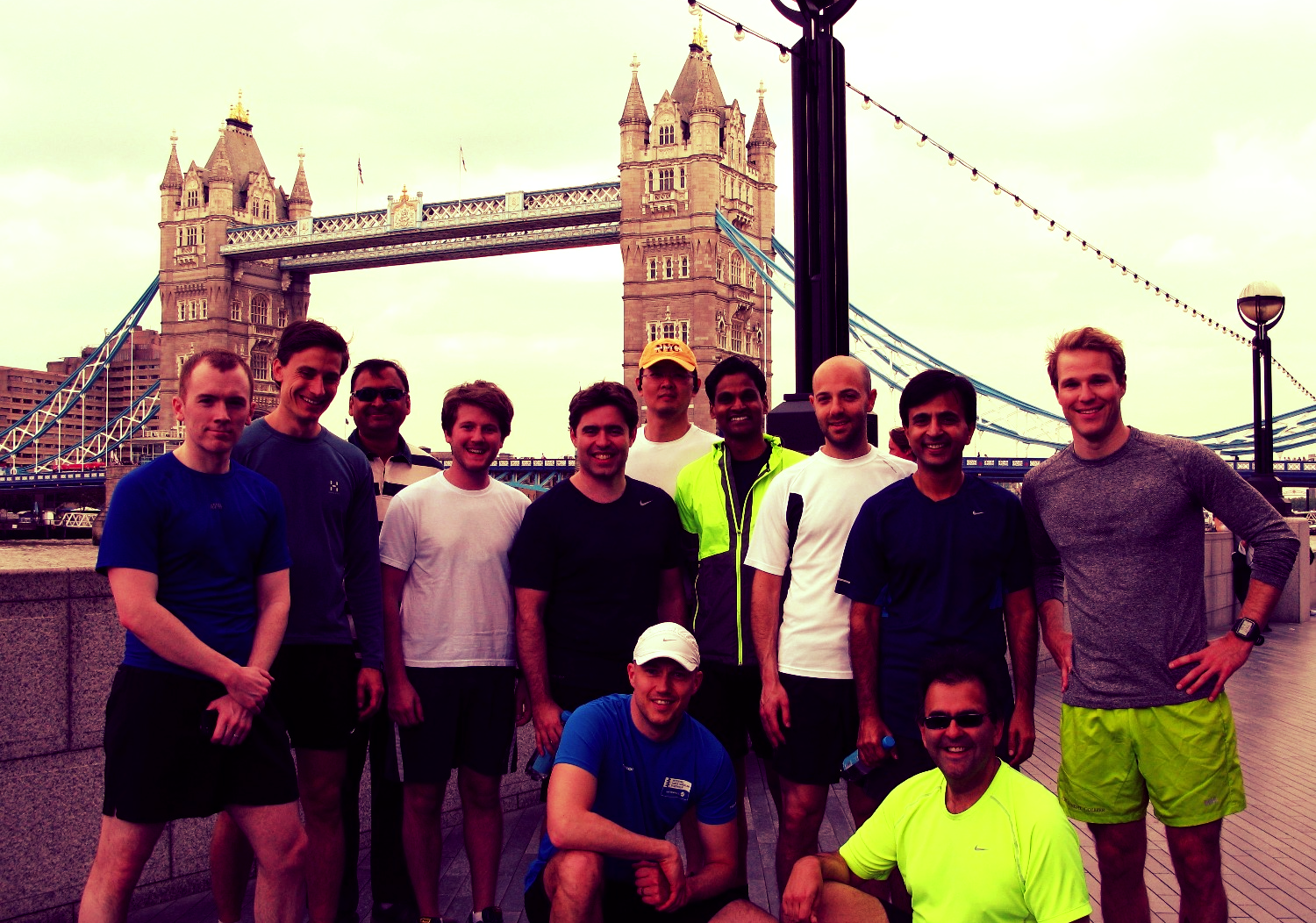 Fun running events in London