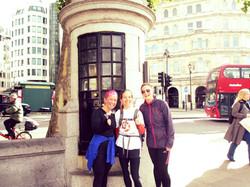 Runners in Trafalgar Square