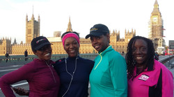 Runners by Houses of Parliament