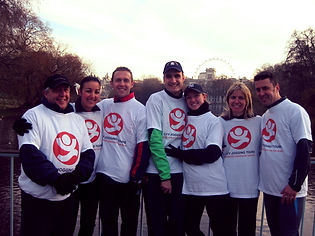 Prvate group running event in London