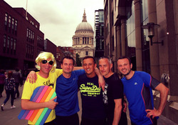 Bespoke Running Events in central London!