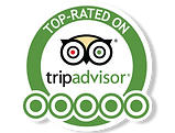 Top Rated 5 stars on Trip Advisor award