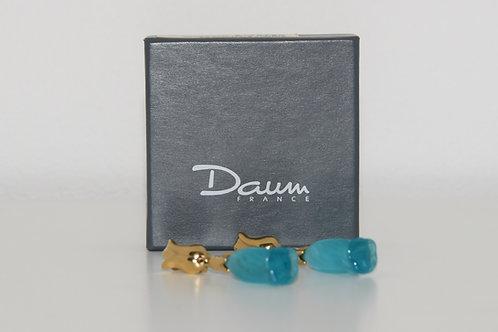 Boucles d'oreille Daum
