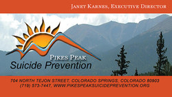 Pikes Peak Suicide Prevention