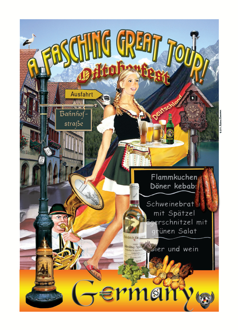 A Fasching Great Tour Poster
