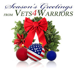 SeasonsGreetings from Vets4Warriors