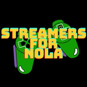 streamers for nola logo