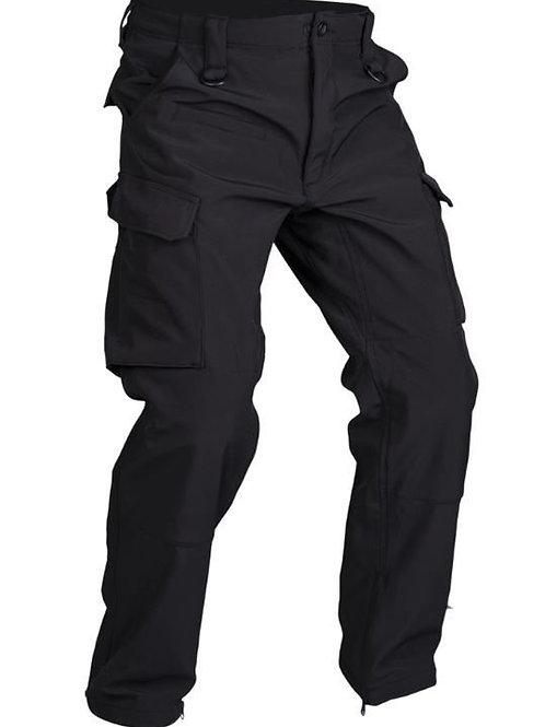 Black SOFTSHELL Pantaloni ′EXPLORER