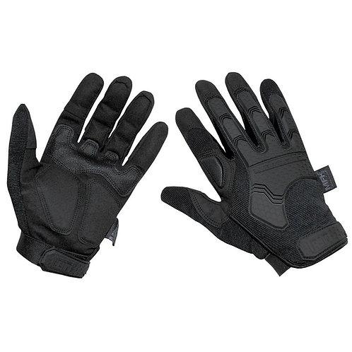 "Manusi Tactical Gloves, ""Attack"", negre"