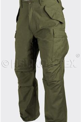 M65 Trousers - Nyco Sateen - Olive Green