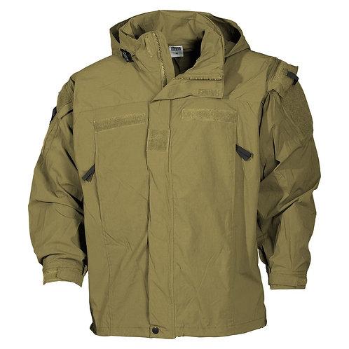 Jachetă MFH US soft shell Coyot - level5