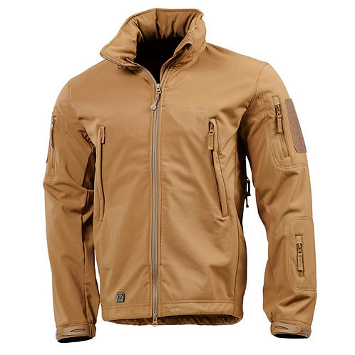 Geaca ARTAXES SOFTSHELL, impermeabila coyote