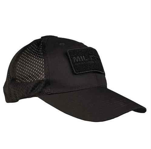 Sapca cu Velcro negra