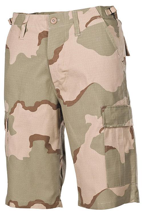 Pantaloni Scurti US Ripstop Camuflaj 3 color deser