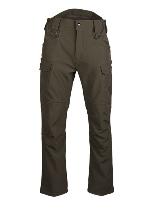Pantaloni SOFTSHELL ′ASSAULT′ verde