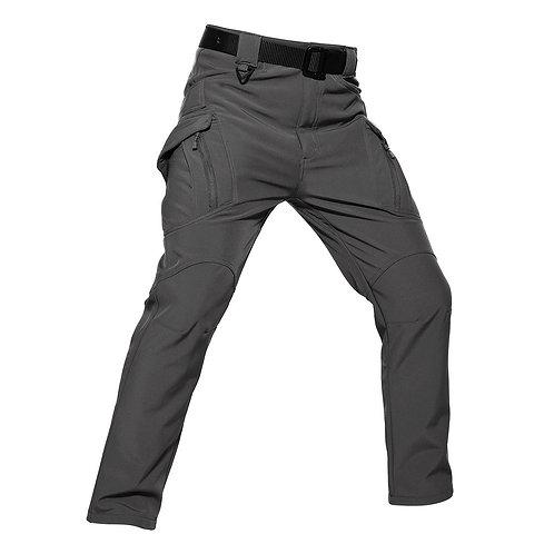 "Pantaloni Soft shell ""Tiger"" gri inchis"